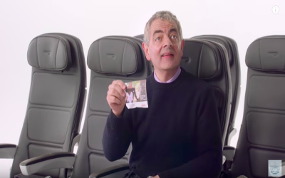 Boarding now - Mr Bean, Gordon Ramsay and more star in British Airways new safety video