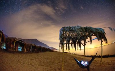 Chilling to the Sound of Waves in the Desert: My Perfectly Blissful Days at a Seaside Camp in Sinai