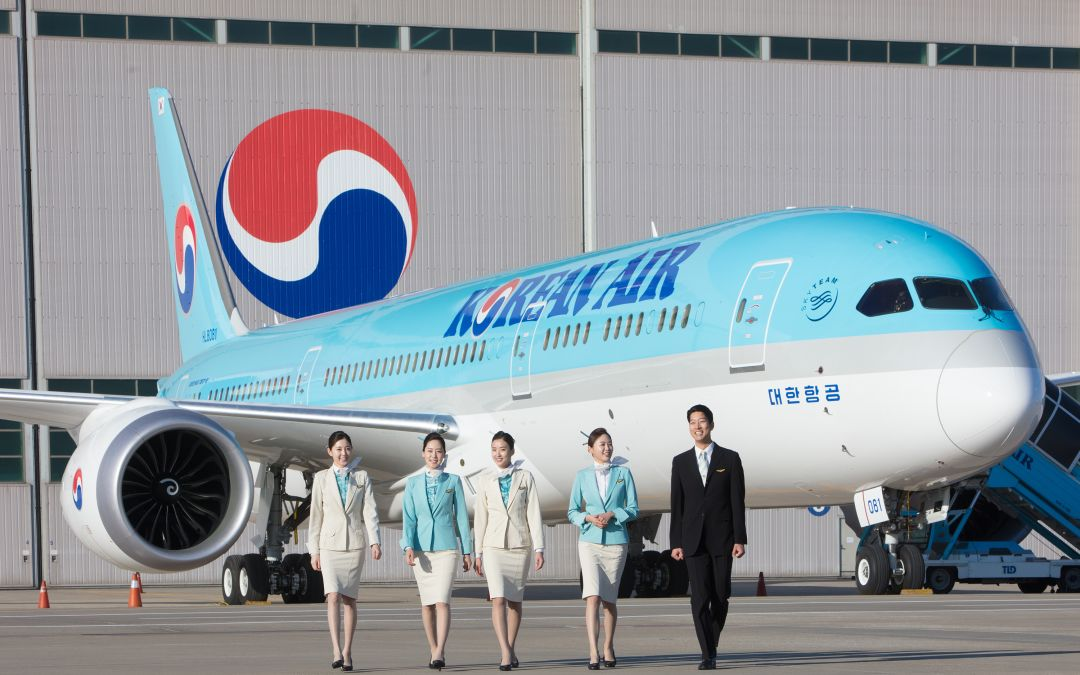 Korean Air unveils its first Dreamliner