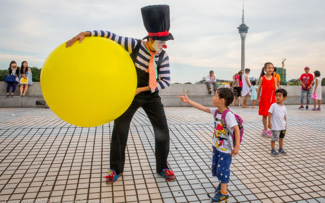 Smile workshops and more family fun in Macao