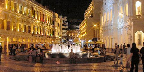 Macau_Senate_Square_at_Night