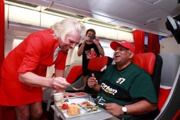 Branson Air Asia Flight Attendant