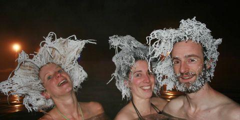 frozen hair