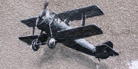 banksy feature plane