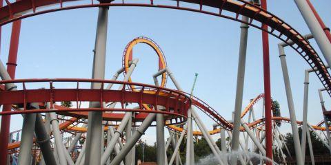 Knotts rollercoaster