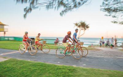 Bersepeda di Gold Coast