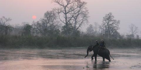 Chitwan dawn_Nepal