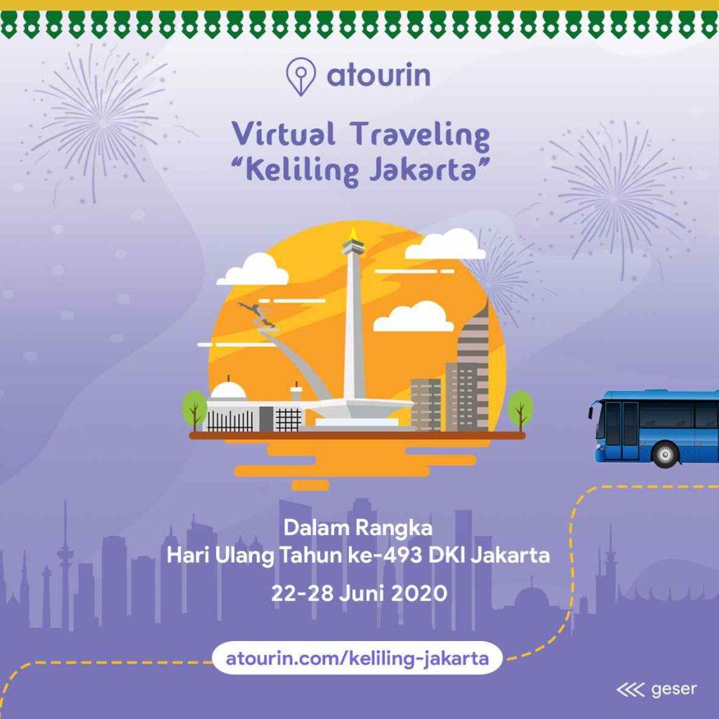 Tur Virtual Keliling Jakarta Atourin