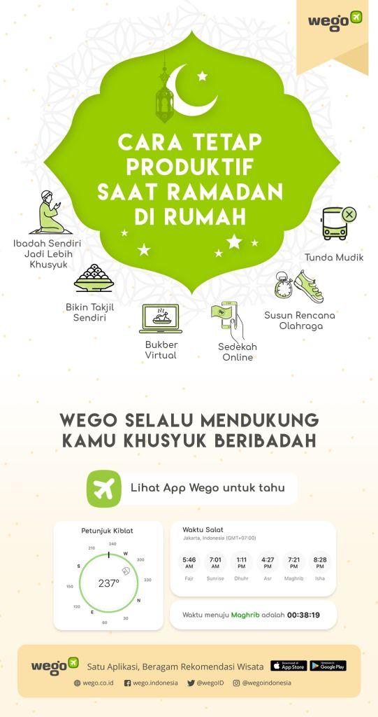 Puasa Produktif bersama Wego Indonesia