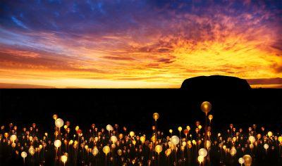 Uluru: Art-throb in Australia's red centre