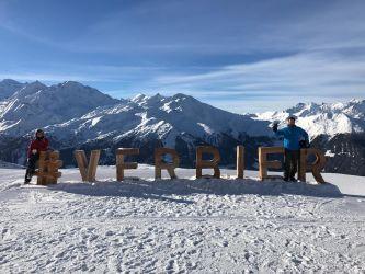 First Family Ski Trip in Verbier