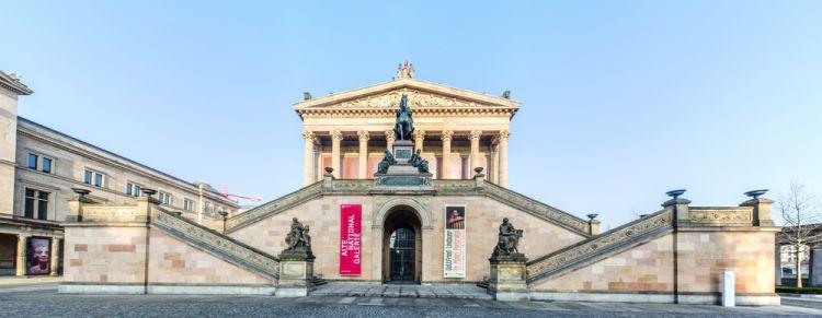 Old National Gallery - Museum Island Berlin
