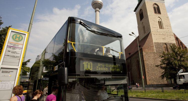 Keliling Kota Berlin Dengan Bus M100 dan M200
