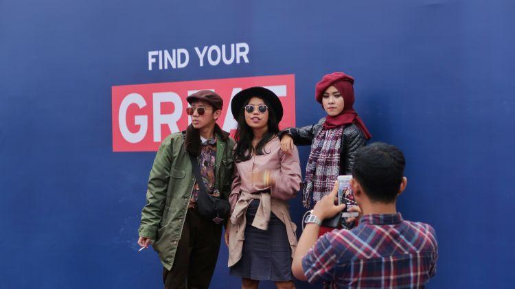 OOTD Contest diselenggarakan oleh Wego, Visit Britain, British Embassy Jakarta di Lalala Festival 2019
