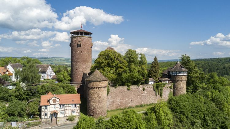 Trendelburg Castle where Rapunzel was kept in prison - Best Scenic Routes for Your First Road Trip in Germany