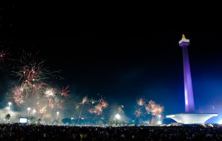 Cara Jitu Menyambut Tahun Baru di Jakarta