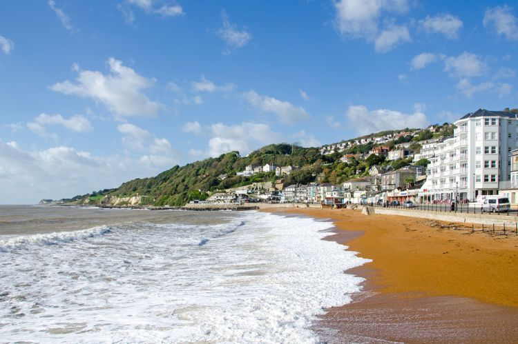 Ventnor Isle of Wight, Inggris