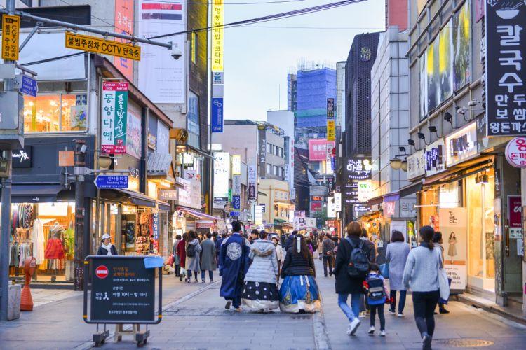 Wisata Belanja di Seoul - Insadong