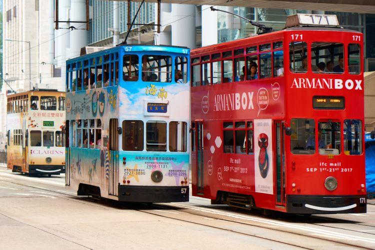 Naik Tram di Hong Kong Seperti Penduduk Lokal