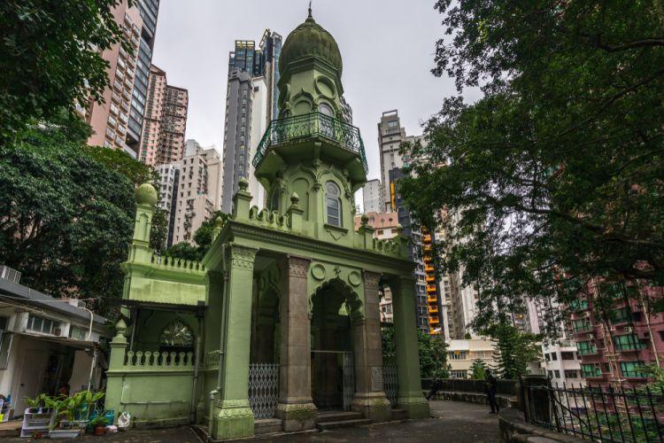 Jamia Mosque Masjid Tertua di Hong Kong