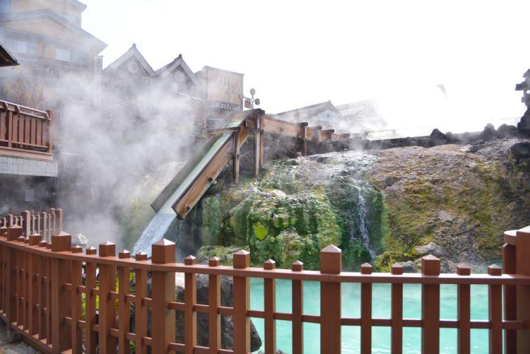 Kusatsu Onsen di perfektur Gunma.