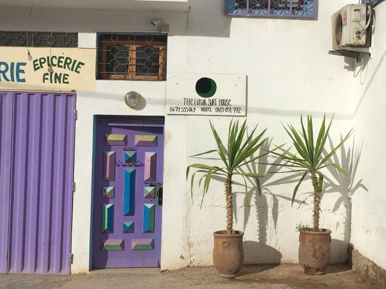 Hostel tempat Ali menginap di Tamraght. (Foto: Ali Lim)