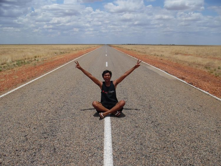Irham Faridh di perjalanan roadtrip Darwin-Cairns