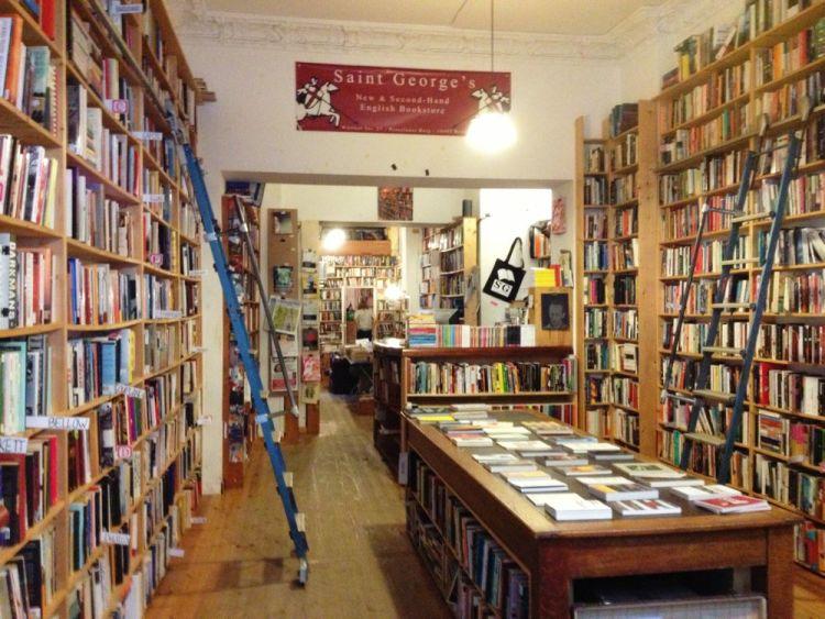 Menelusuri Toko Buku Indie di Berlin - St George