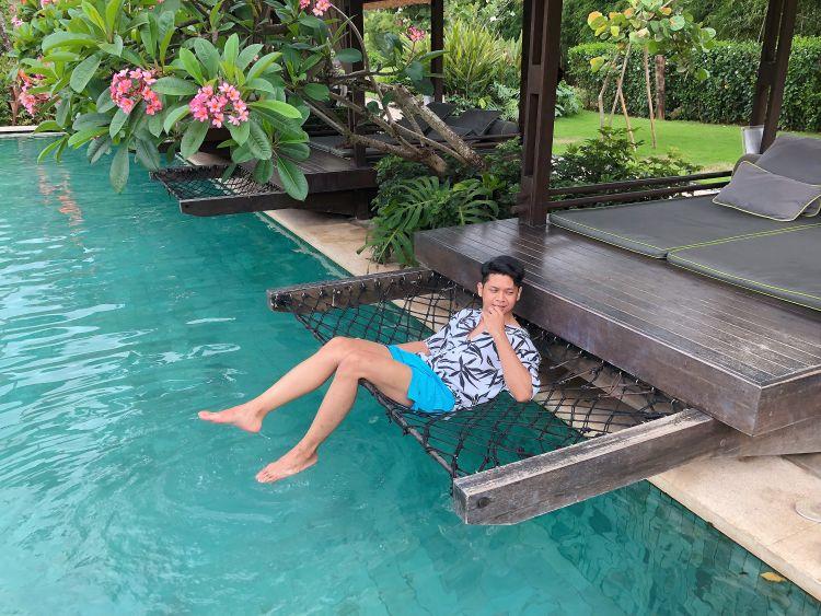 Kolam renang Movenpick Jimbaran Resort and Spa Bali