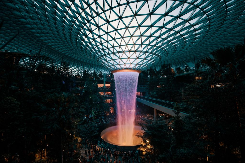 Jewel Changi Singapura
