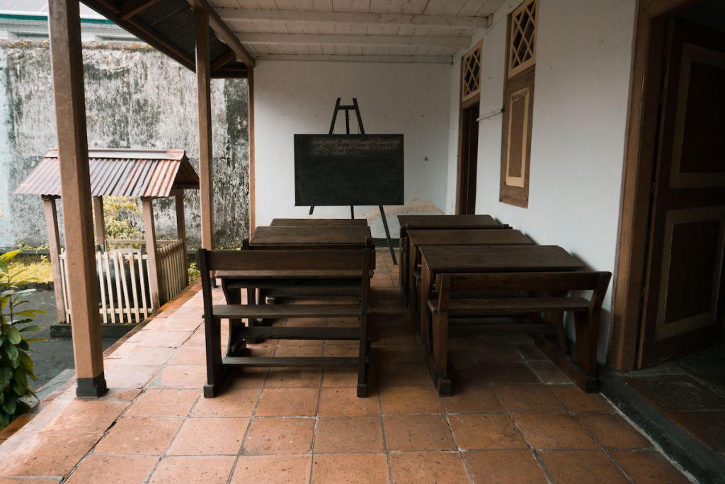 Rumah pengasingan Bung Hatta di Banda Naira.