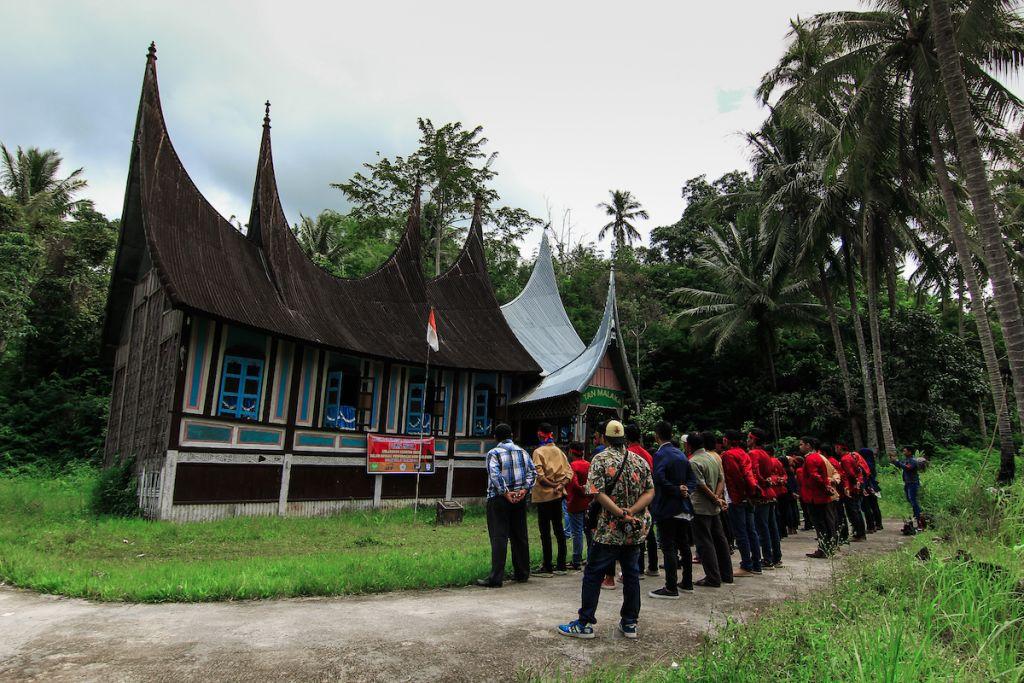 Rumah kelahiran Tan Malaka di Pandam Gadang, Sumatera Barat