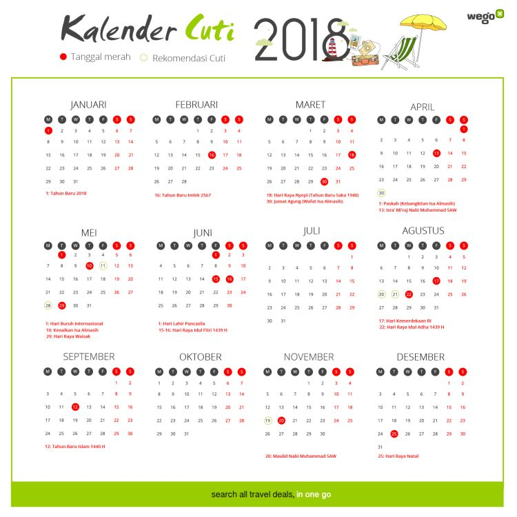 Lebaran Tahun 2018 Bulan Apa