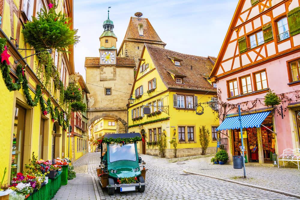 قرى ومدن ألمانية تبدو وكأنها من القصص الخيالية