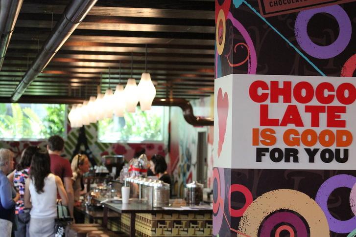جولة الشوكولاتة - الصورة من موقع brisbanekids