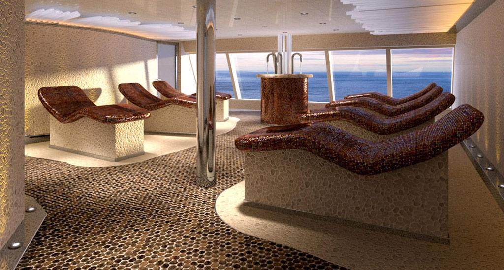 السبا على متن سفينة كوستا دياديما - الصورة من موقع costacroisieres