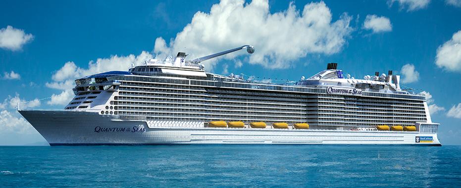 سفينة كوانتوم او ذا سيز - الصورة من موقع royalcaribbean