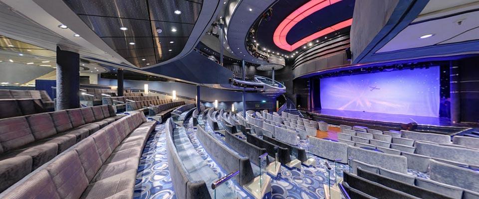 المسرح في أركاديا - الصورة من موقع pocruises