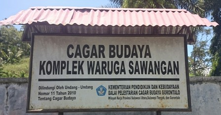 Waruga tombs sign