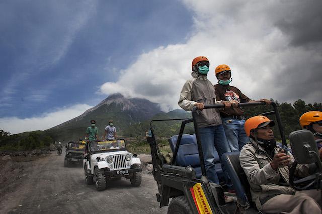 wisata gunung merapi jogja Menantang Volcano Tour Ke Lereng Merapi Wego Indonesia