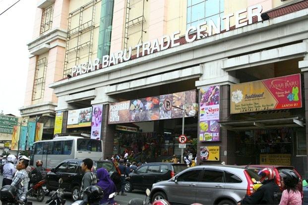 Belanja seru di Pasar Baru Bandung