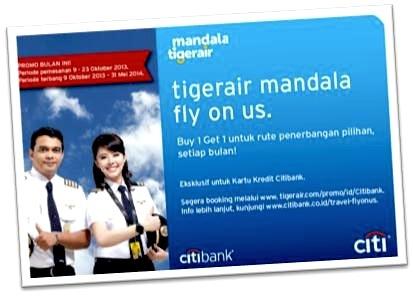 Promo Tigerair Mandala-Citibank