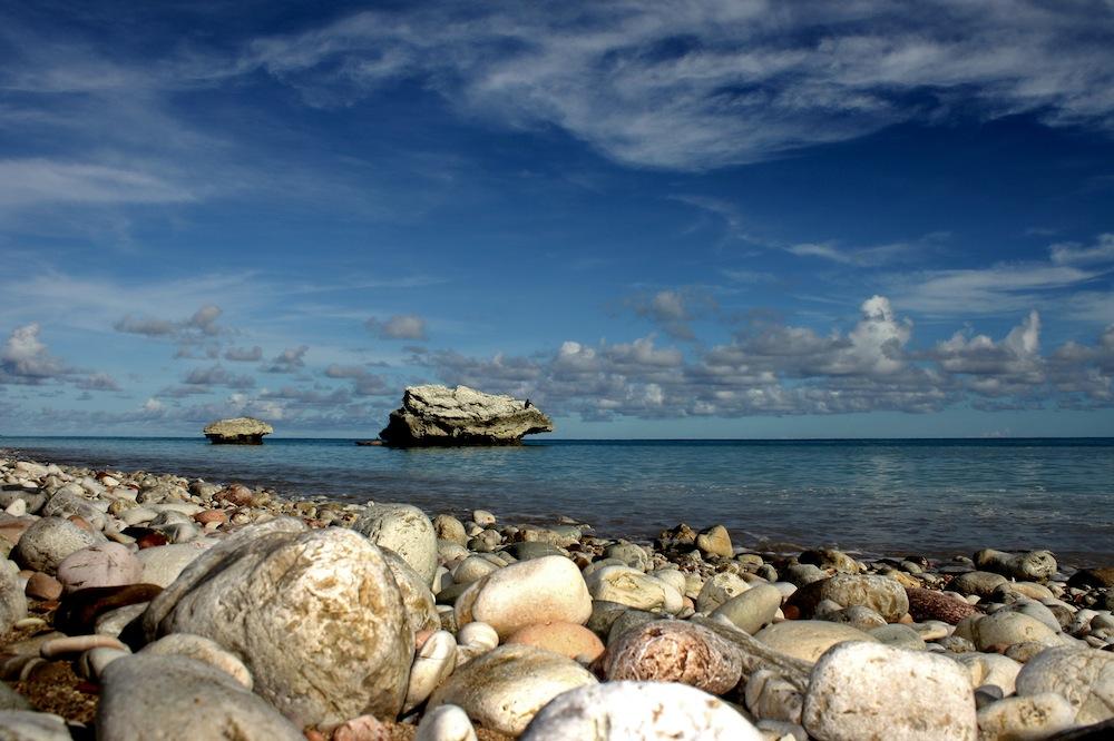 Suasana di pantai Kolbano