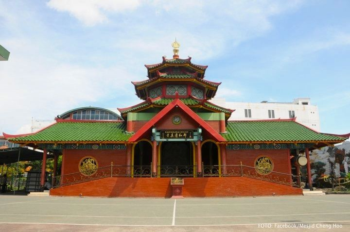 Wisata Sekaligus Ibadah Di Masjid Cheng Ho Surabaya