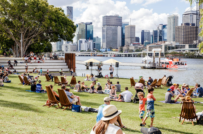 Sunday Sessions on The Green, South Bank, Brisbane