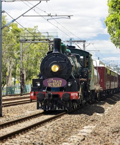 Steam Train Sunday, Brisbane