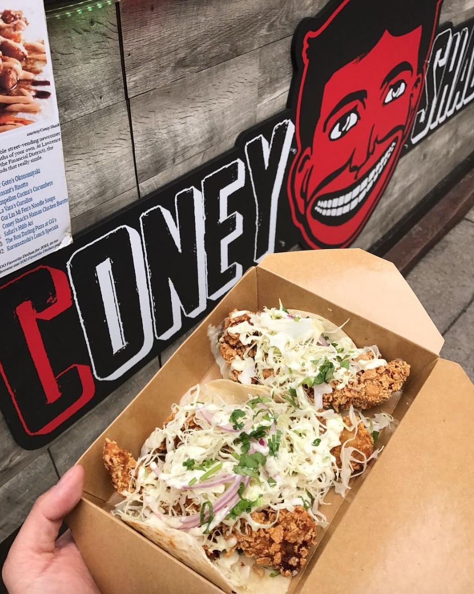 Coney Shack——Tacos!美味的墨西哥夾餅