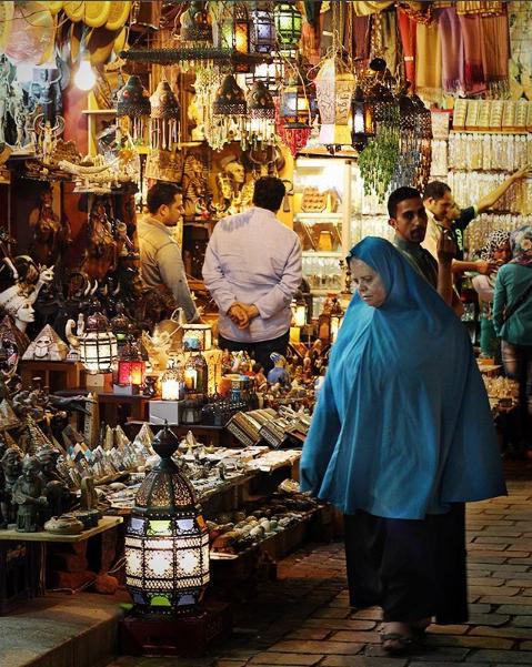 Fanous di Pasar Khan el Khalily Mesir