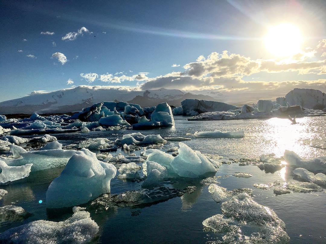 傑克沙龍冰河湖