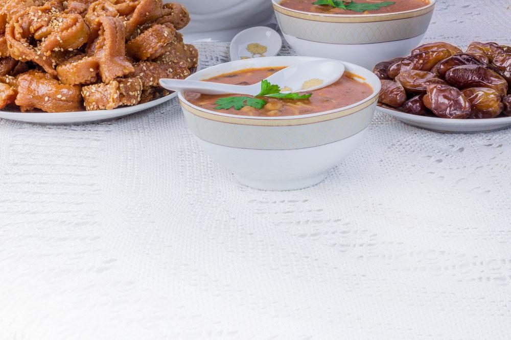 وصفات أكل رمضانية مشهورة من العالم العربي – الجزء الأول